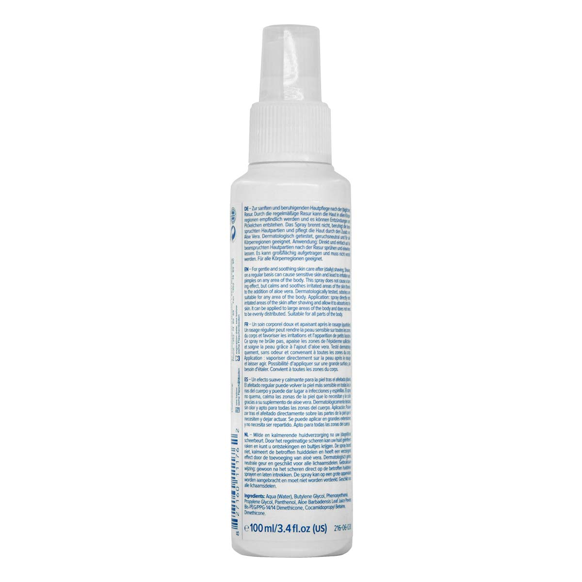 pjuractive BODY AFTER SHAVE Spray 100ml