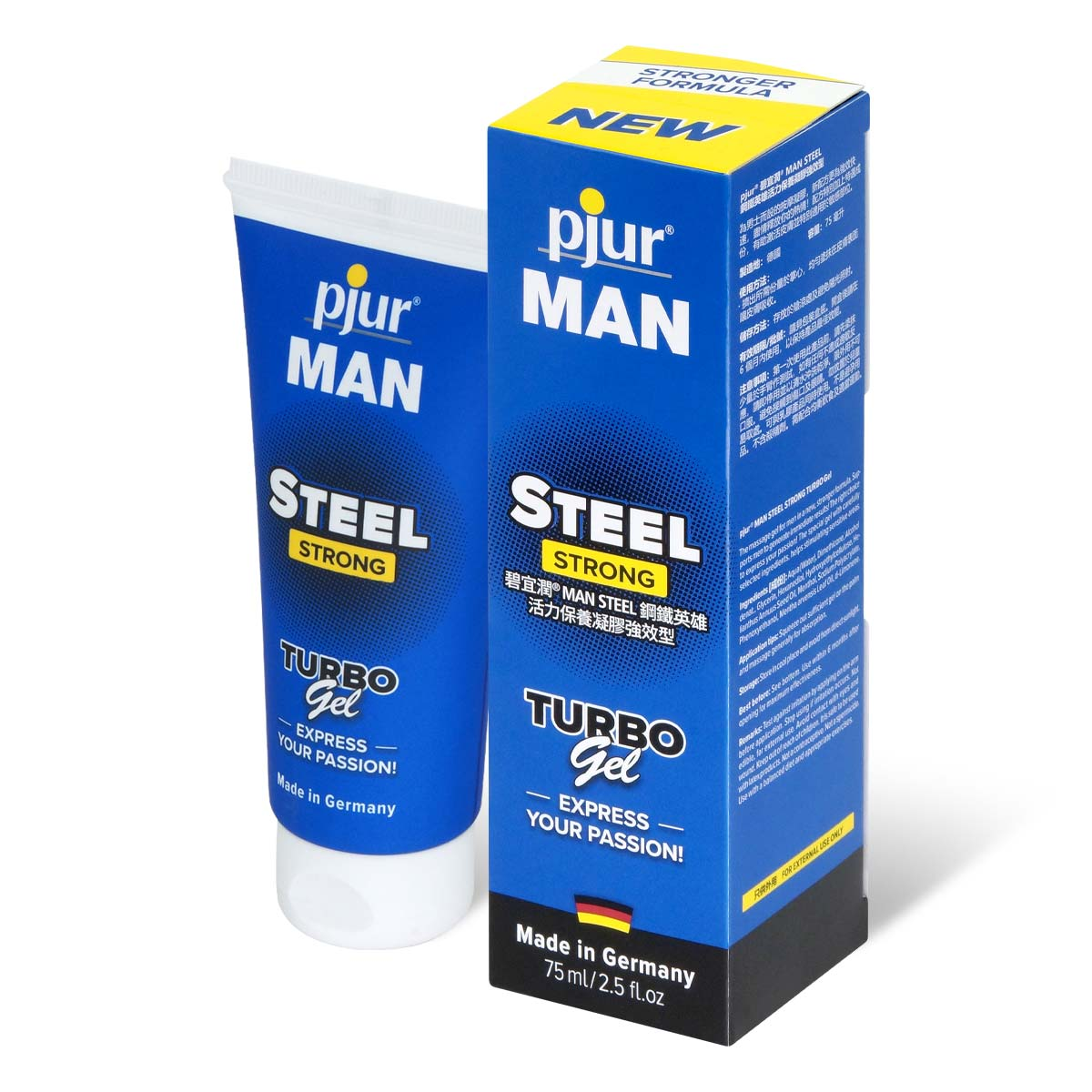 pjur MAN STEEL STRONG Turbo Gel 75ml