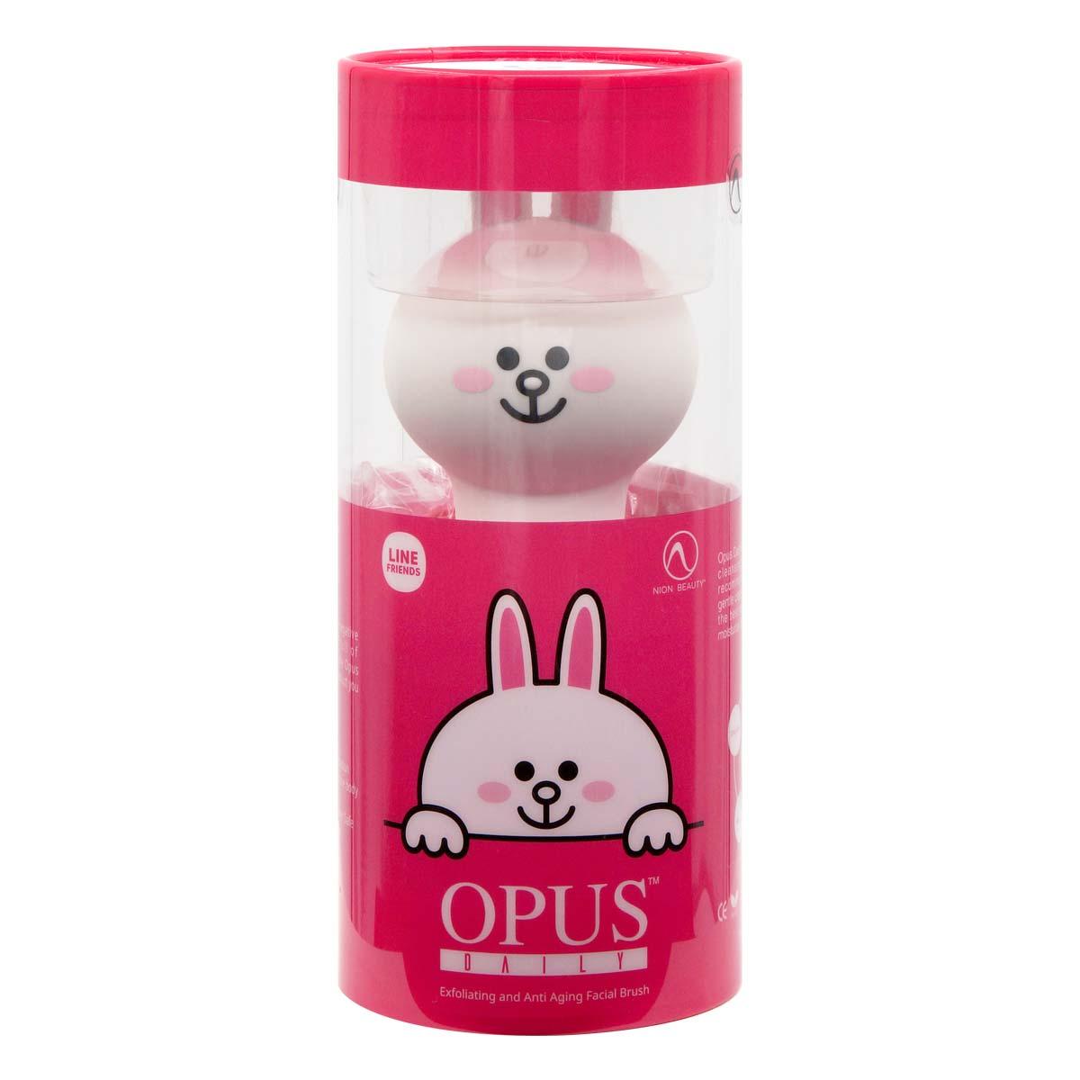 Line Friends Opus Daily Exfoliating and Anti Aging Facial Brush (Cony)