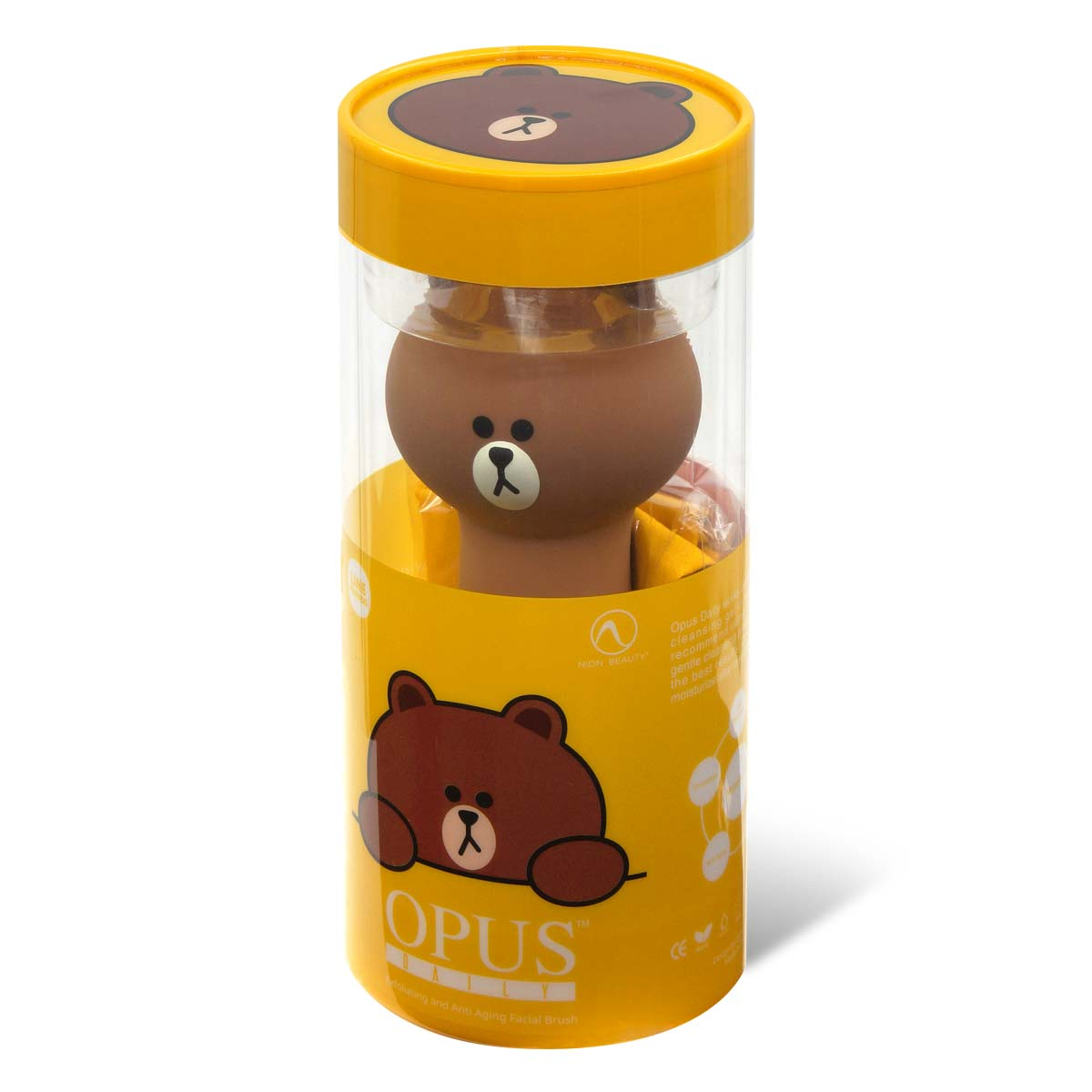 Line Friends Opus Daily 角质及抗衰老洁面仪 (Brown / 熊大)