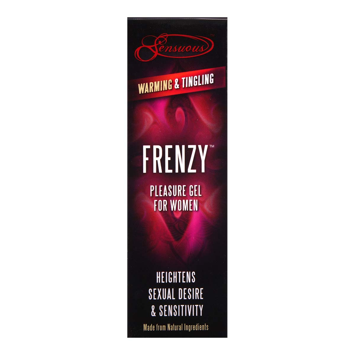 Sensuous Frenzy pleasure gel for women 7ml